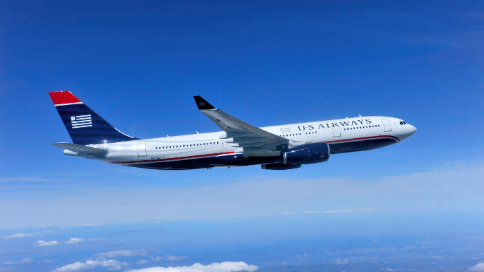 Un Airbus 330-200 de la compagnie US Airways. (Photo US Airways)