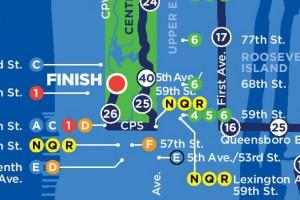 Découvrez le parcours du marathon de New York