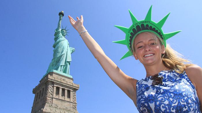 Habillez-vous aux couleurs de Miss Liberty ! (Photo Didier Forray)
