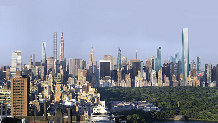Future skyline de New York