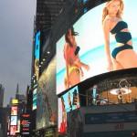 Vidéo : bienvenue sur Times Square !
