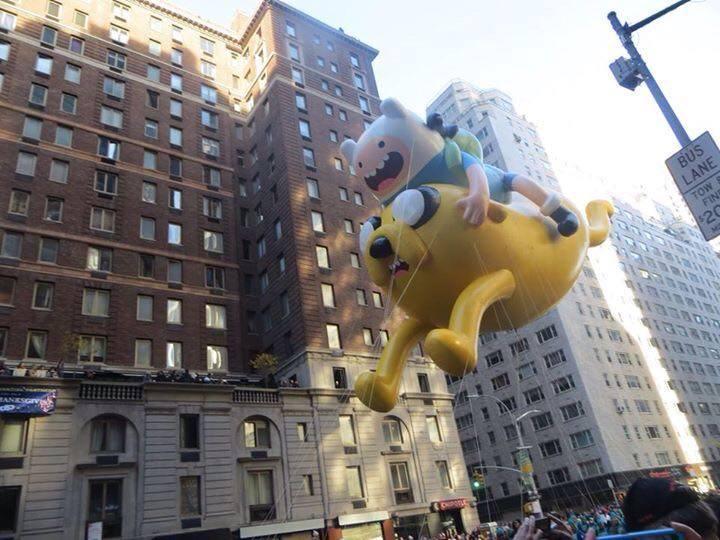 Parade de Thanksgiving à New York