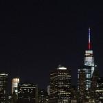 New York montre son soutien à Paris