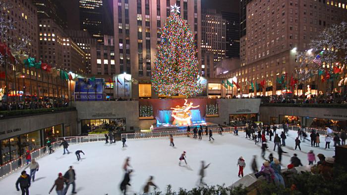 Le célèbre sapin du Rockefeller Center. (Photo Gabriel Rodriguez)