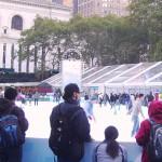 New York fête l'hiver dans Bryant Park