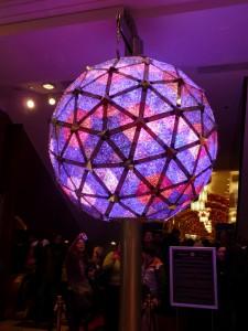 La sphère du nouvel an Times Square