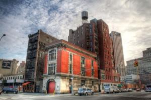 La caserne de Ghostbusters sur Moore Street