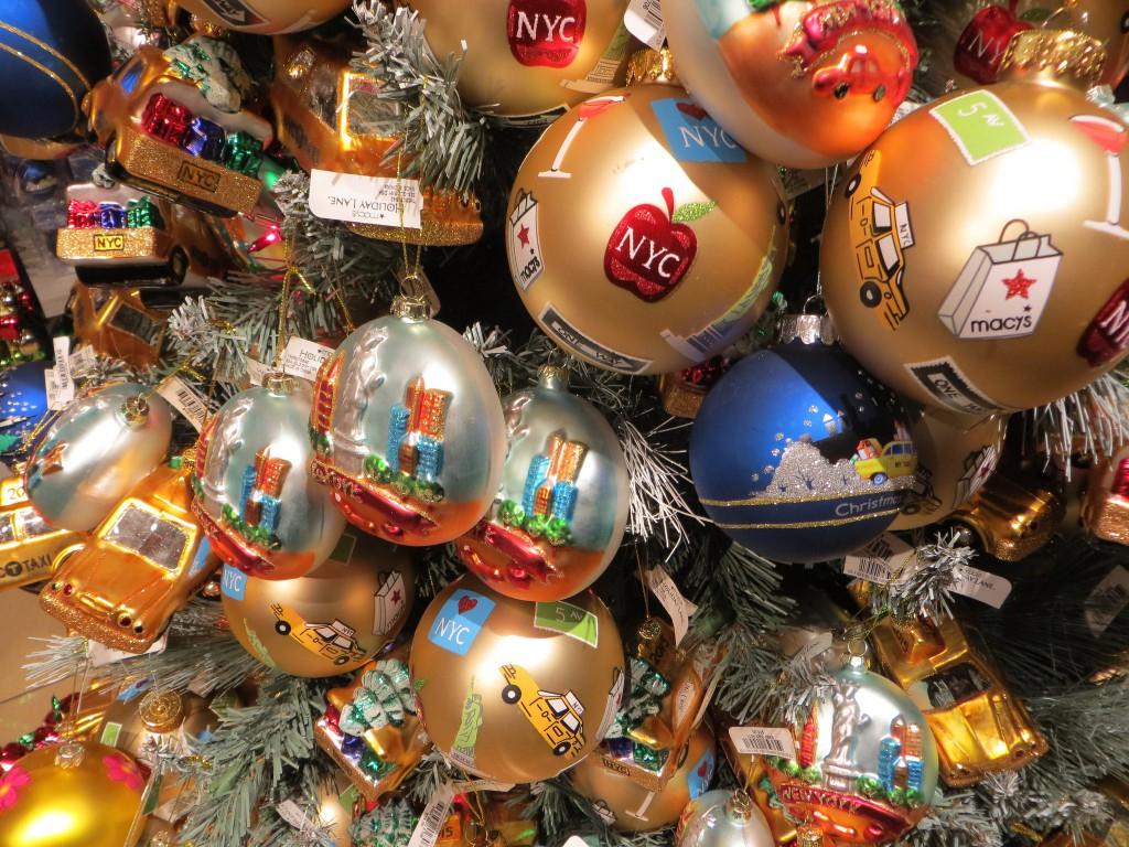 Arbre de Noël Macy's New York