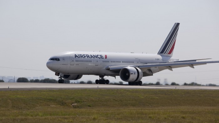 Boeing 777 Air France au décollage
