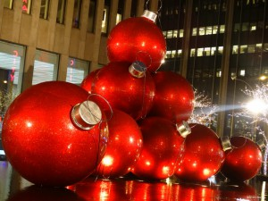 décoration de Noël à New York