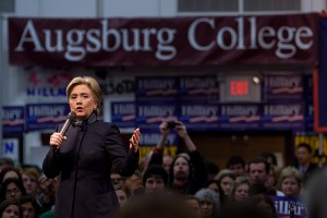 La démocrate Hillary Clinton. (Photo DR)