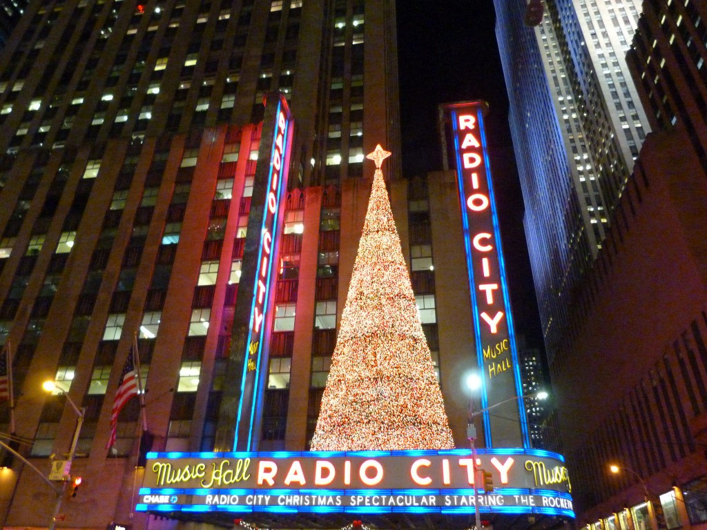 Radio city Hall New York Noël