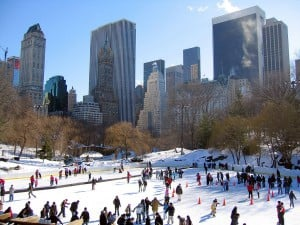 New York patinoire Central Park
