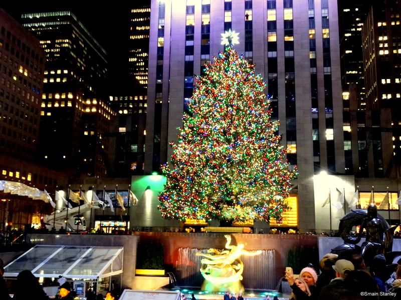 Sapin de Noël du Rockefeller Center