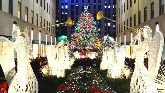 New York Rockefeller Center Noël