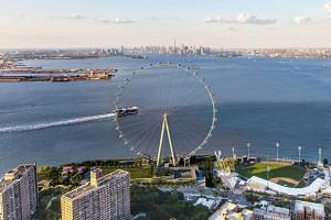 Début des travaux pour la New York Wheel