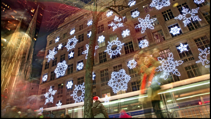 Noël saks new york