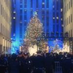 Vidéo : l'illumination du sapin du Rockefeller Center