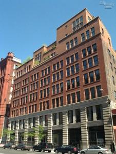 La façade en briques du 285 Lafayette Street. (Photo CityRealty)