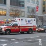 Vidéo : une ambulance des pompiers de New York