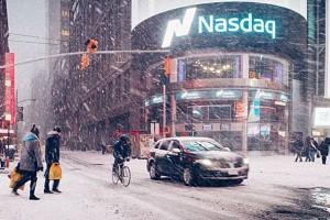 En photos : New York sous la neige