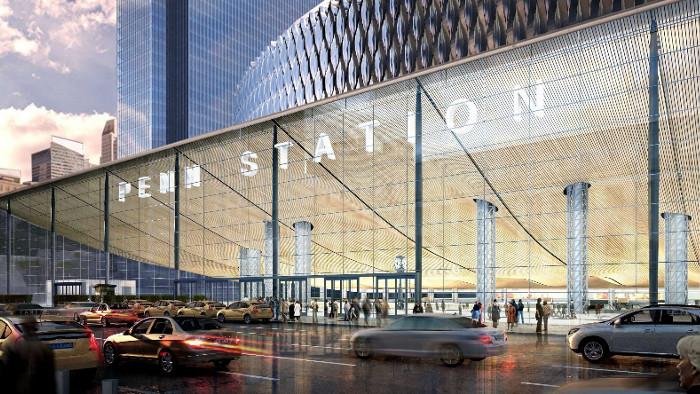 La future façade de Penn Station. (Photo DR)