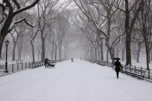 Record de froid historique hier à New York