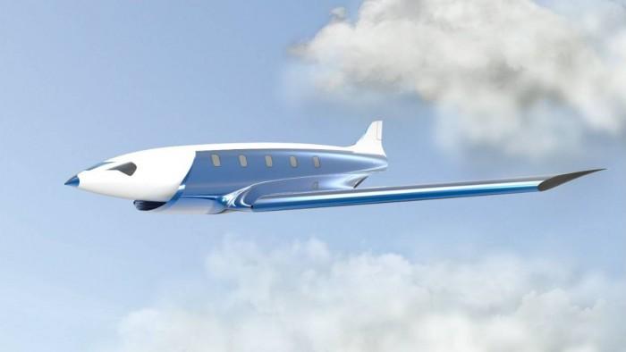 avion supersonique New York