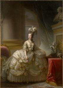 Portrait de Marie-Antoinette.