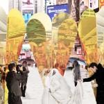 Saint-Valentin à New York : embrassez-vous sur Times Square