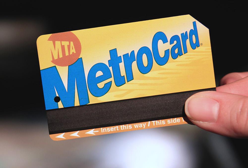 Une MetroCard de New York