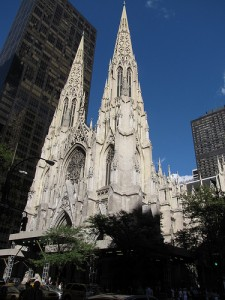 St Patrick's Cathedral New York