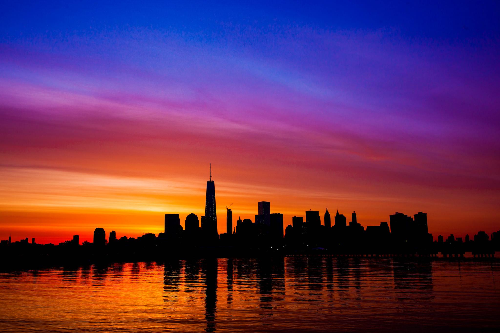 5 endroits pour voir le lever du soleil new york new york - Coucher du soleil new york ...