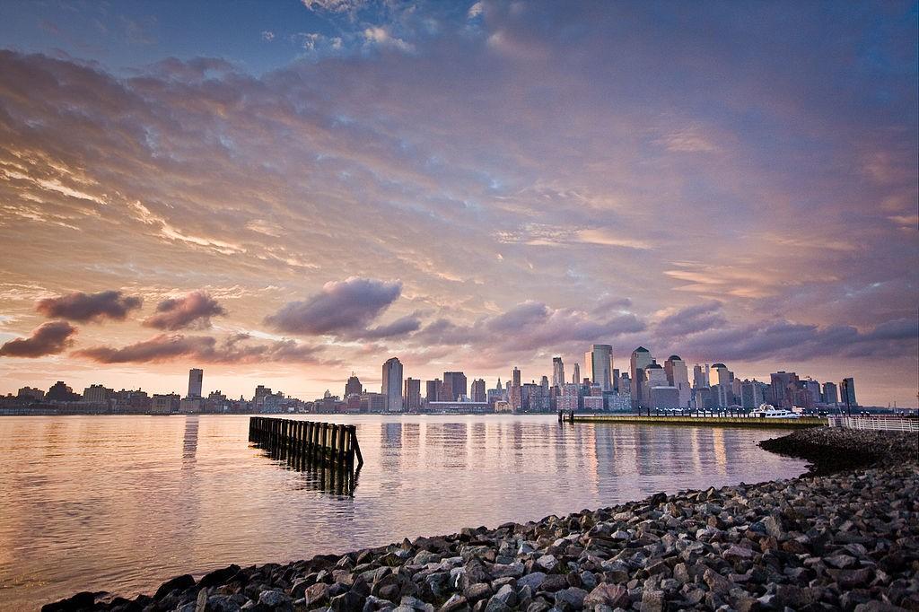 Lever de soleil sur New York