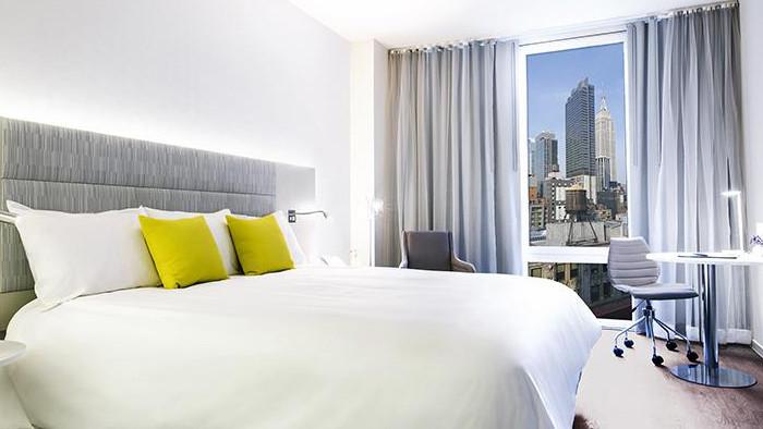 Des chambres avec vue sur New York. (Photo Meliá)