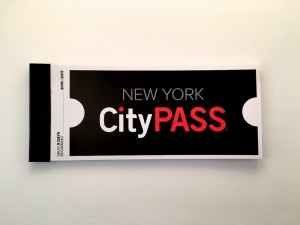 Un carnet New York City Pass.
