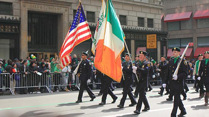 La parade de la Saint-Patrick à New York. (Photo Julien Magne)
