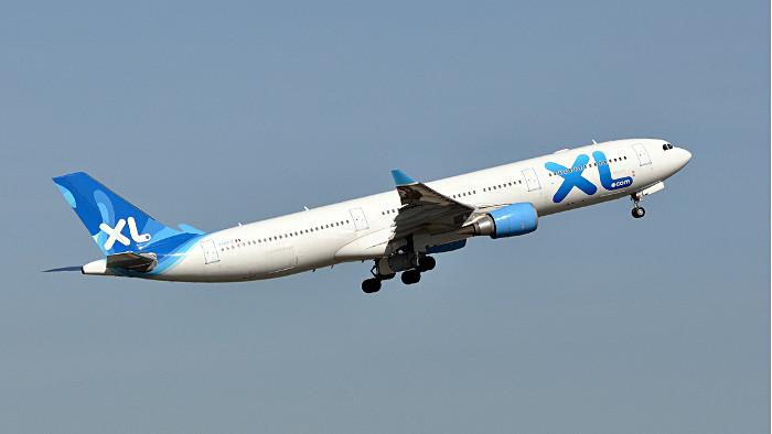 Un Airbus 330 d'XL Airways au décollage. (Photo Eric Salard)