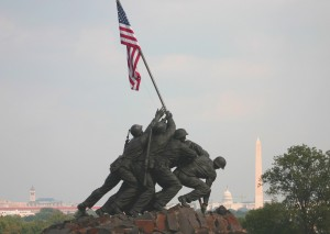 Marine Corp Memorial Iwo Jima Washington