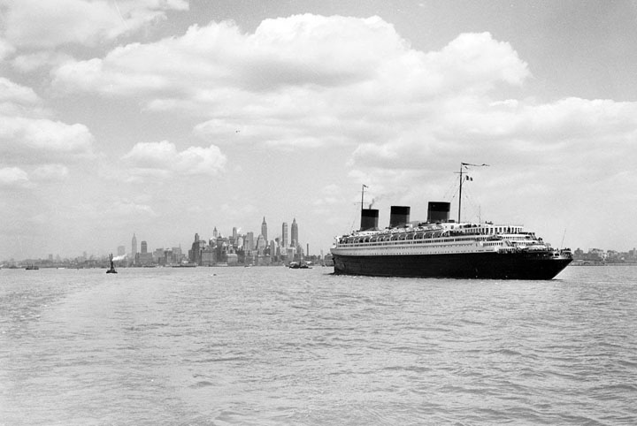 The S.S. Normandie New York
