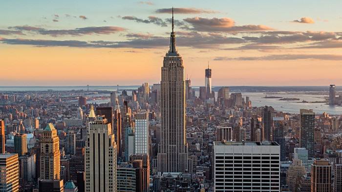 L'Empire State building vu depuis le Top of the Rock. (Photo Sam Valadi)