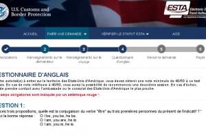 USA : un test d'anglais obligatoire pour les touristes