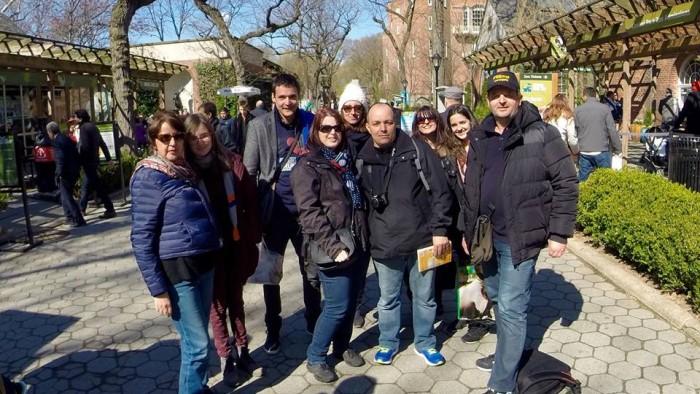 Les forumeurs dans Central Park !