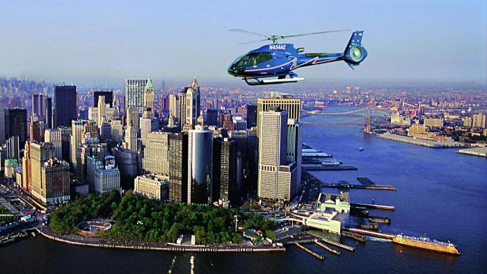 Les survols en hélicoptère offrent une vue sur New York à couper le souffle !