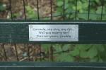 Adoptez un banc dans Central Park !