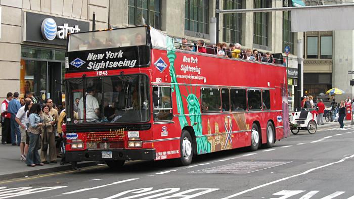 Parcourez New York en bus pendant 3 jours.