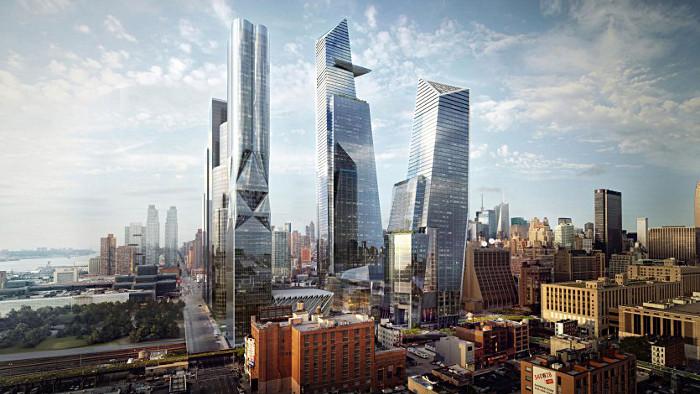 La skyline du nouveau quartier de Hudson Yards.