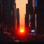 Manhattanhenge 2017 à New York : un coucher de soleil inédit !