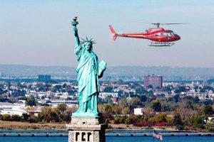 Les tours en hélicoptère sont en promo à New York