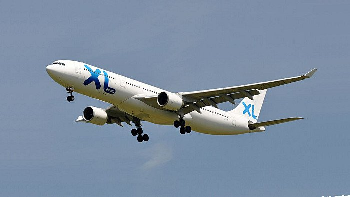 Un Airbus 330 de XL Airways. (Photo  	Eric Salard)